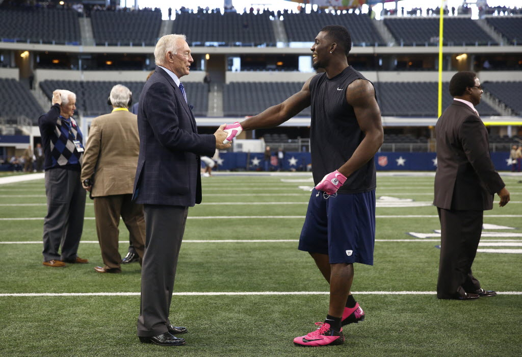 Jerry Jones Dez Bryant Didn T Talk About Football While