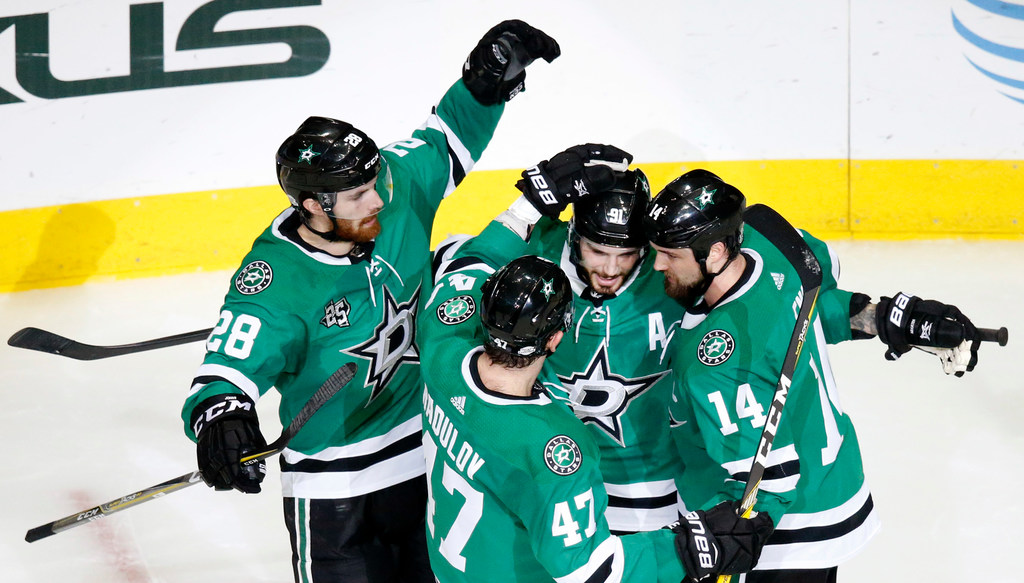 Start of training camp offers preliminary peek at potential Stars lineup options