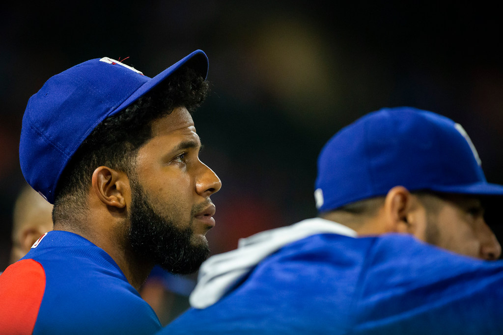 How one moment Tuesday night summed up a season's worth of frustration for Rangers SS Elvis Andrus