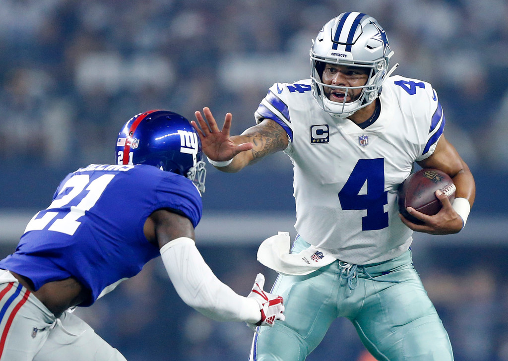 More carries for Dak Prescott? 'If the defense gives me the read, I'll keep it'