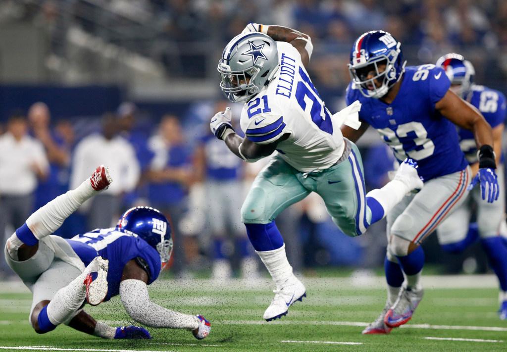 How fast was Cowboys RB Ezekiel Elliott vs. Giants? A hidden chip tracker reveals
