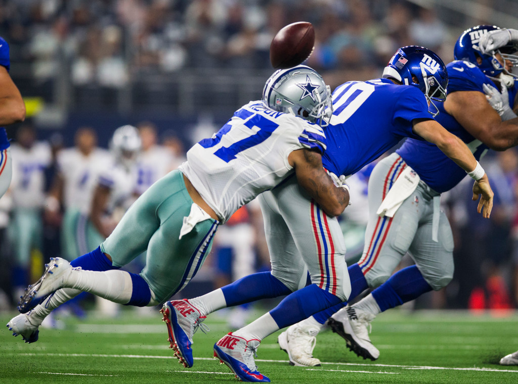 The fastest sack in the entire NFL Week 2 came from this Cowboys defender