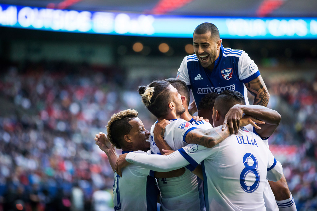 FC Dallas regains Western Conference lead with win at Vancouver
