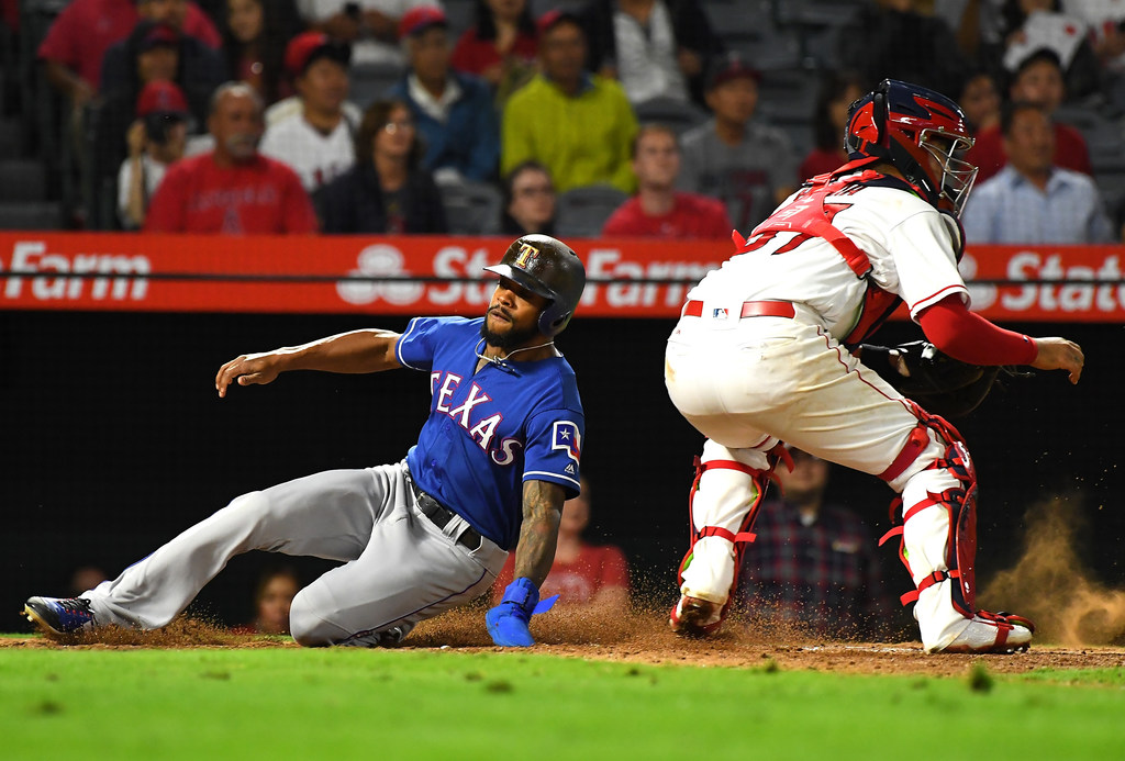 Rangers fall to Angels after Jose Briceno's walk-off home run