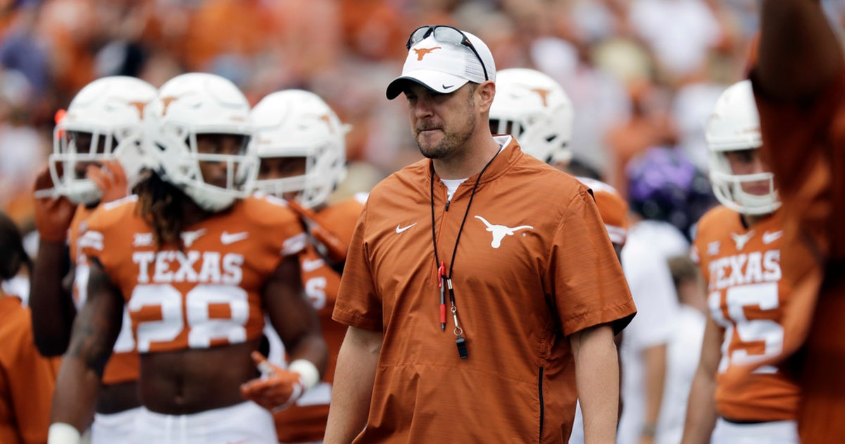 College Sports: Texas head coach Tom Herman gives multiple ...