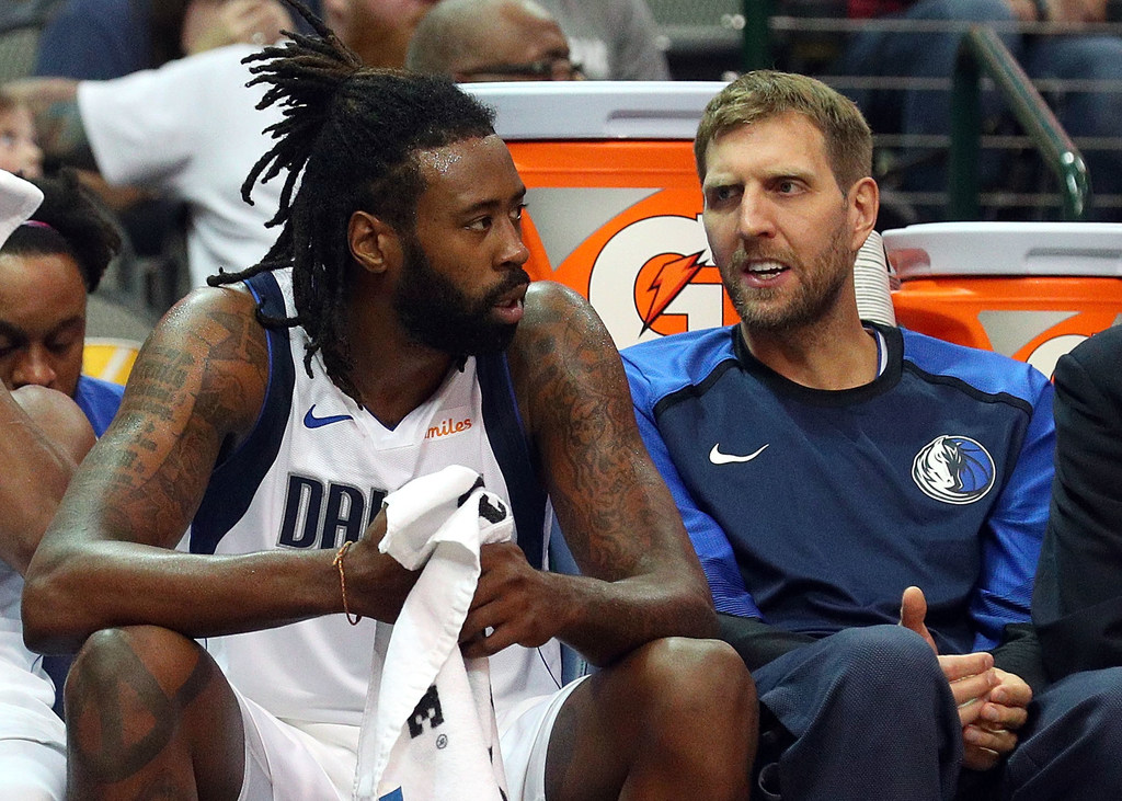 Mavericks will be without DeAndre Jordan for games in China; Dirk Nowitzki likely to sit next preseason game