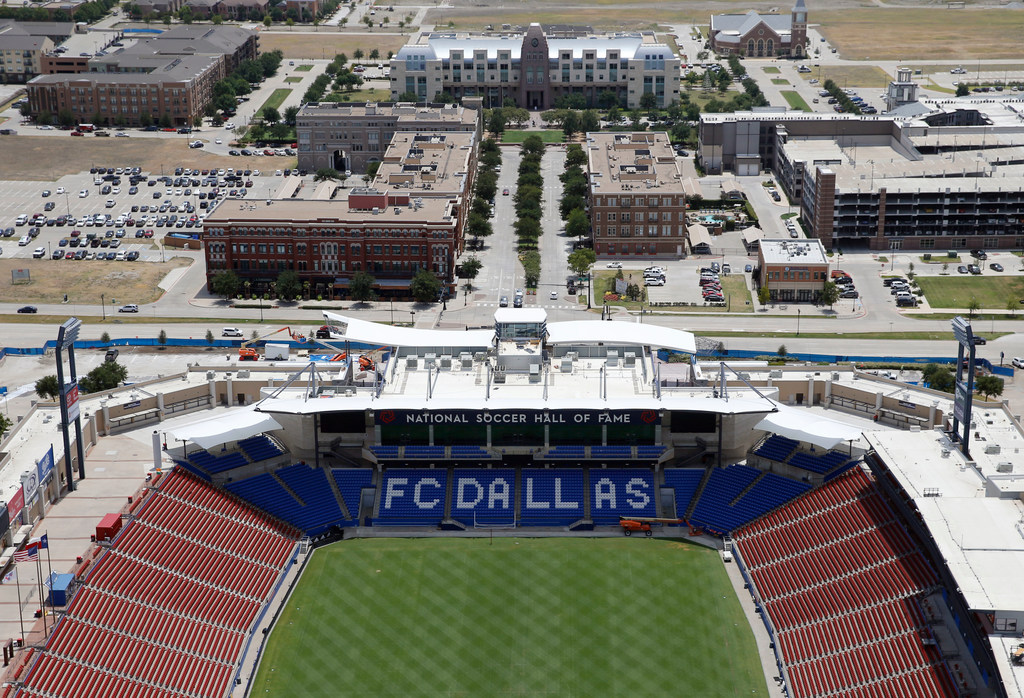 'It's like a carpet:' Washouts, football and concerts can't keep Toyota Stadium from having a top playing surface