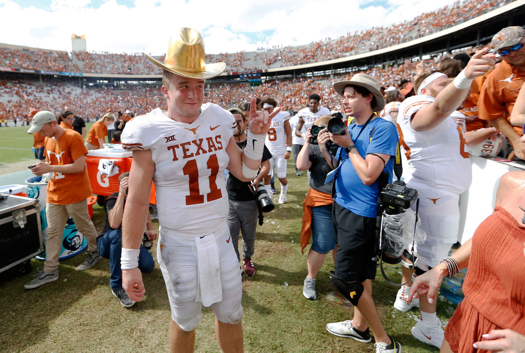 Just like they practiced it: With Texas' offense clicking, Longhorns knew the final drive vs. Oklahoma would work out