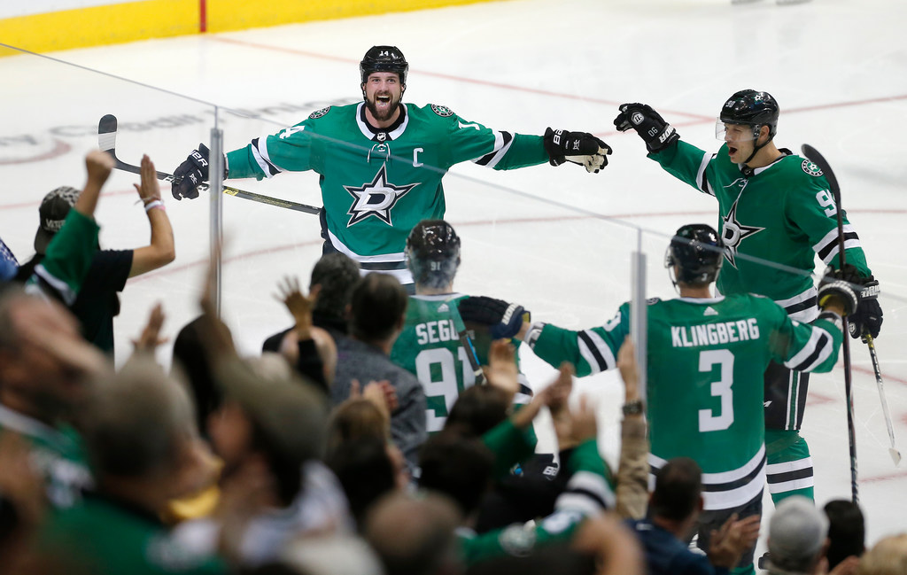 What helped drive the Stars' power play to three goals against Winnipeg