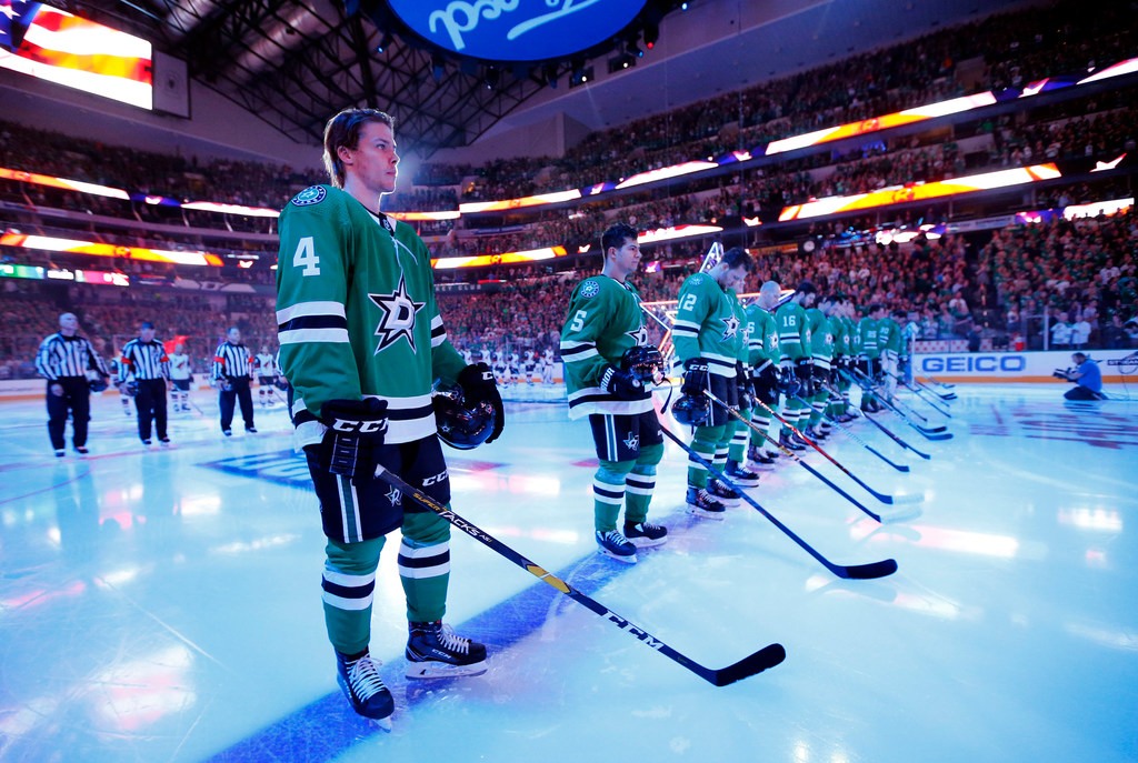 Who's been the most impressive player for the Stars after three games?