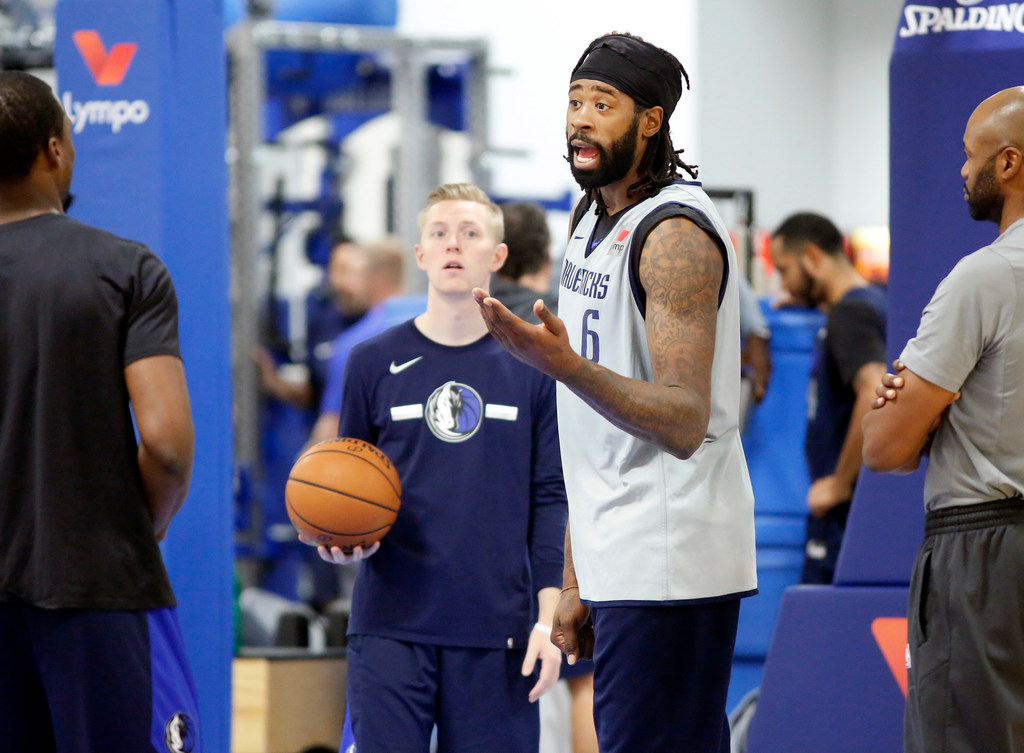 Are playoffs a realistic goal for Mavericks in wild Western Conference? DeAndre Jordan thinking more than No. 8 seed