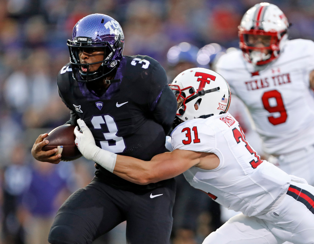 buy popular ece8e 26f84 College Sports  National reaction  Texas Tech exposes the  real issues   with TCU s offense   SportsDay