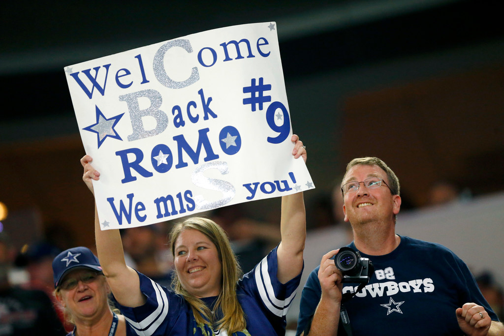 'We want Romo'? Down-on-Dak Cowboys fans might air regrets Sunday, awakening echoes of 'We want Meredith' in 1970