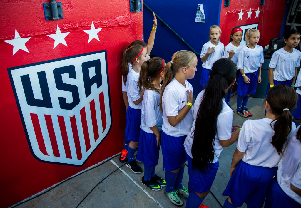 As the U.S. Women's National Team preps to do battle in Frisco, players from Texas will wait their turn