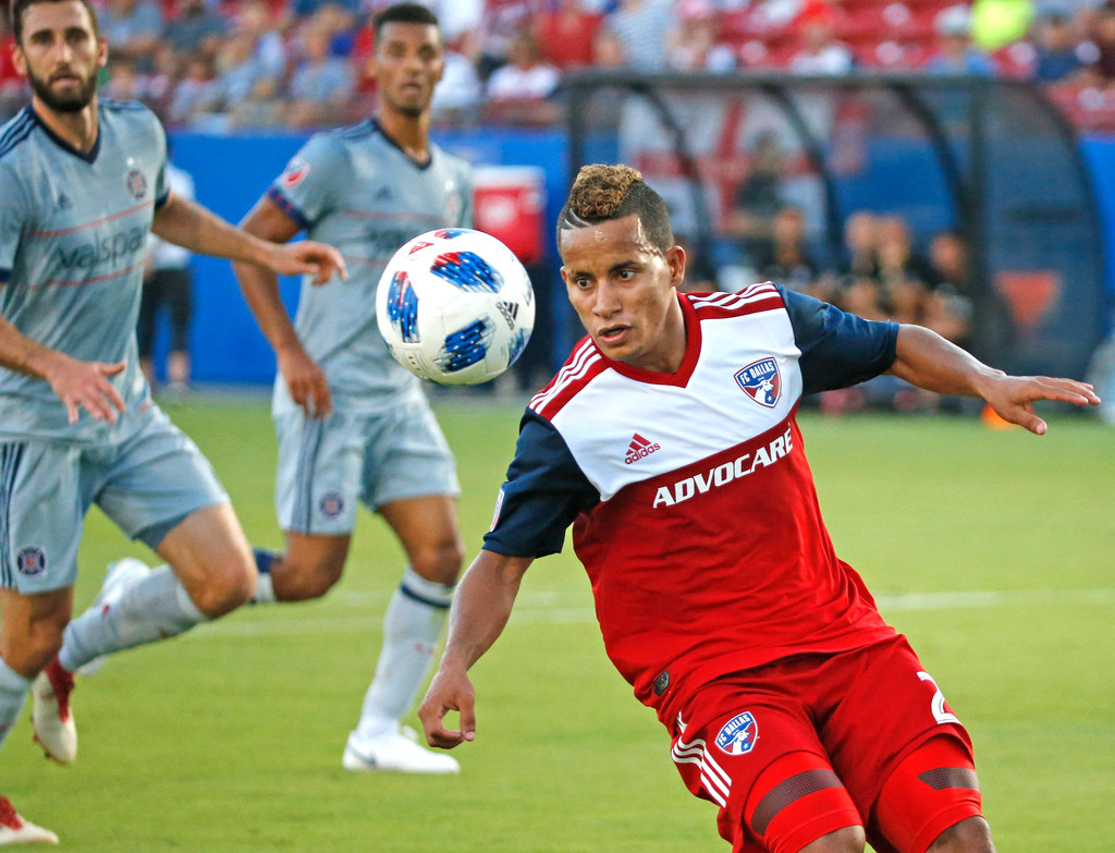 Michael Barrios has been a constant for a FC Dallas roster in flux this season