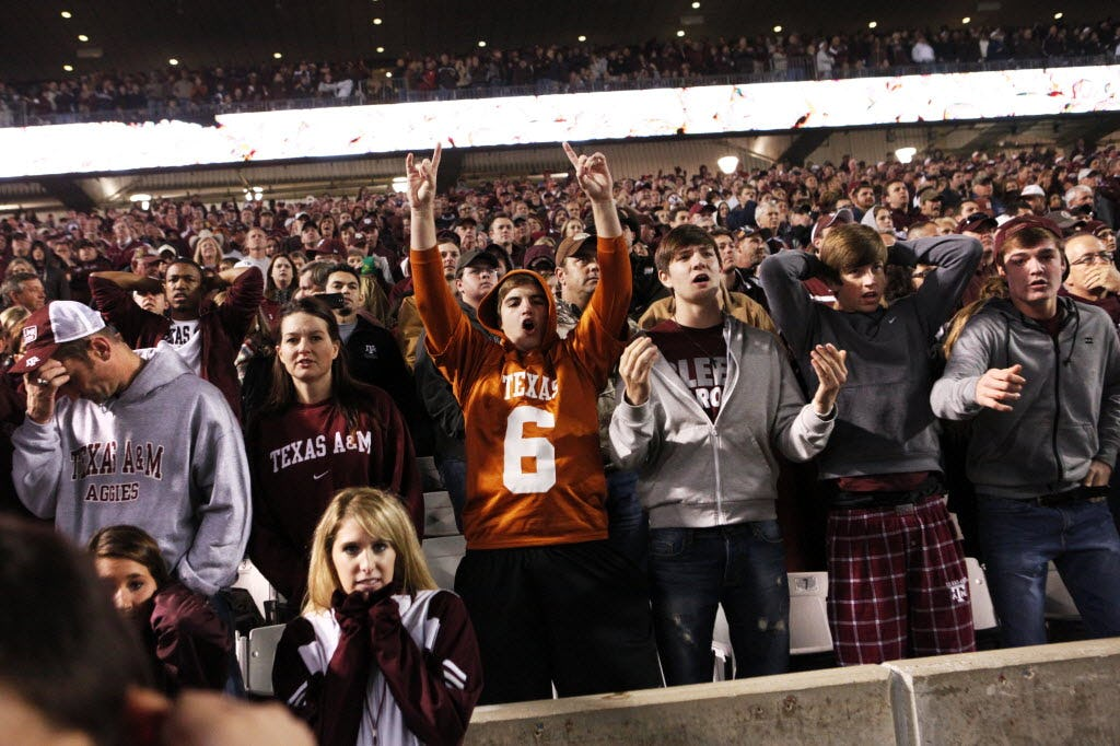 Are Texas and Texas A&M on a collision course for a marquee bowl game?
