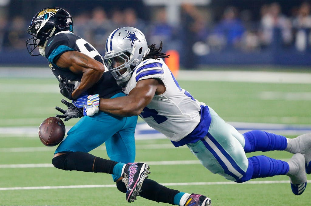 Jaylon Smith: Getting chance to tackle Adrian Peterson will be 'dream come true'
