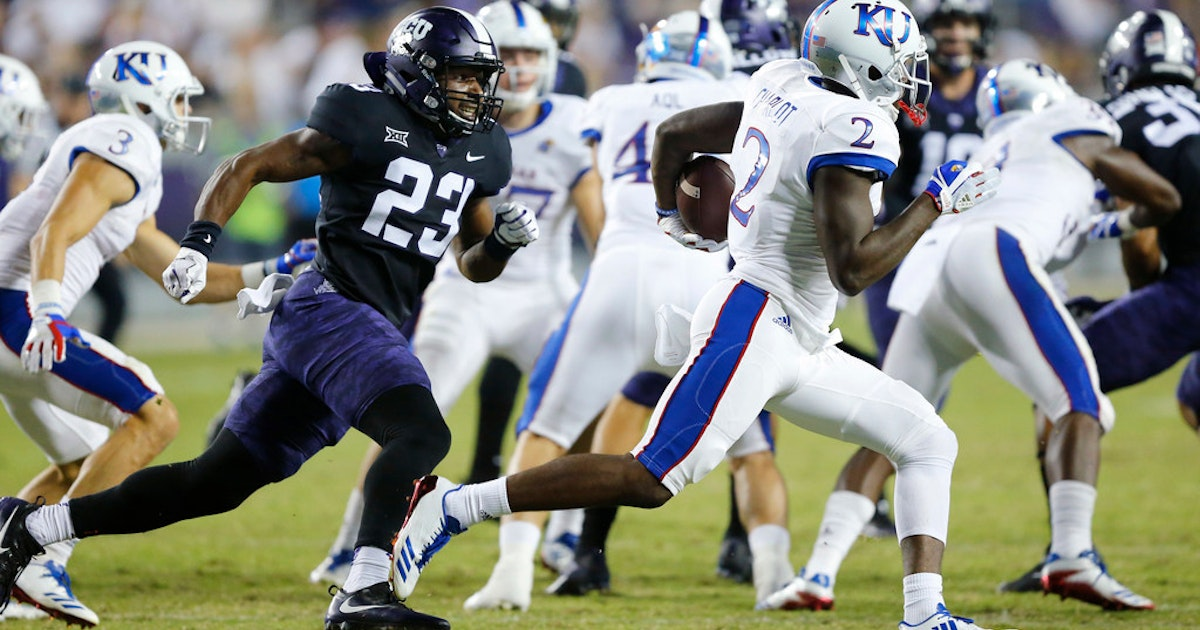 College Sports  5 things TCU fans need to know about Kansas  Watch out for  those takeaways  97084000e
