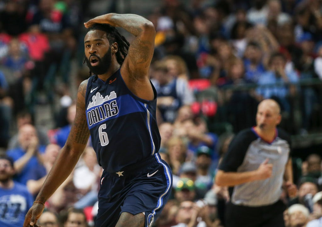 Improving DeAndre Jordan's offensive game was a priority for Rick Carlisle. It showed in loss to Jazz