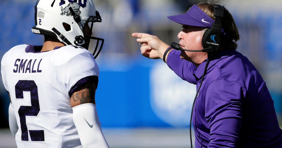 College Sports   I m not sure I ve ever been down seven safeties   5  takeaways from Gary Patterson s Tuesday press conference  81ed84eb1
