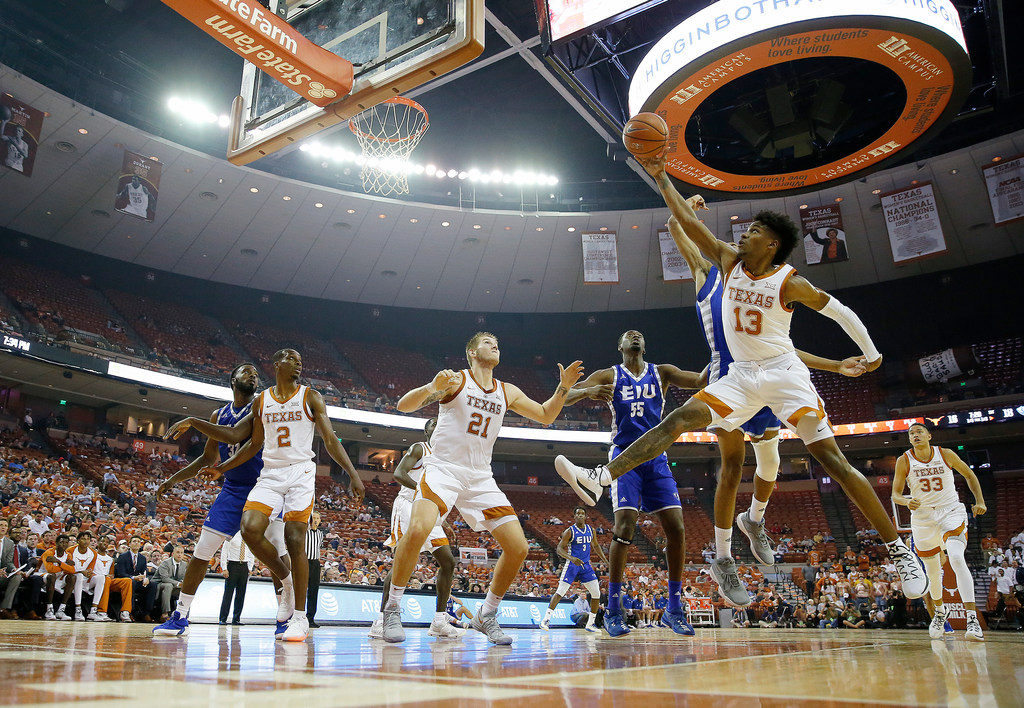 5dd6f704c8ad16 College Sports  3 takeaways from Texas  71-59 win over Eastern Illinois   Andrew Jones returns for first action since leukemia diagnosis