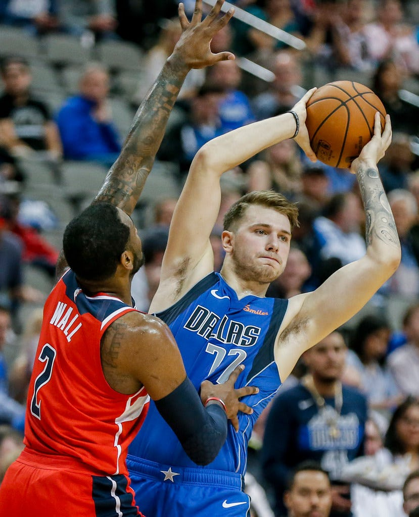 Here's your 10-game look at where Luka Doncic rates with some of the best in NBA history