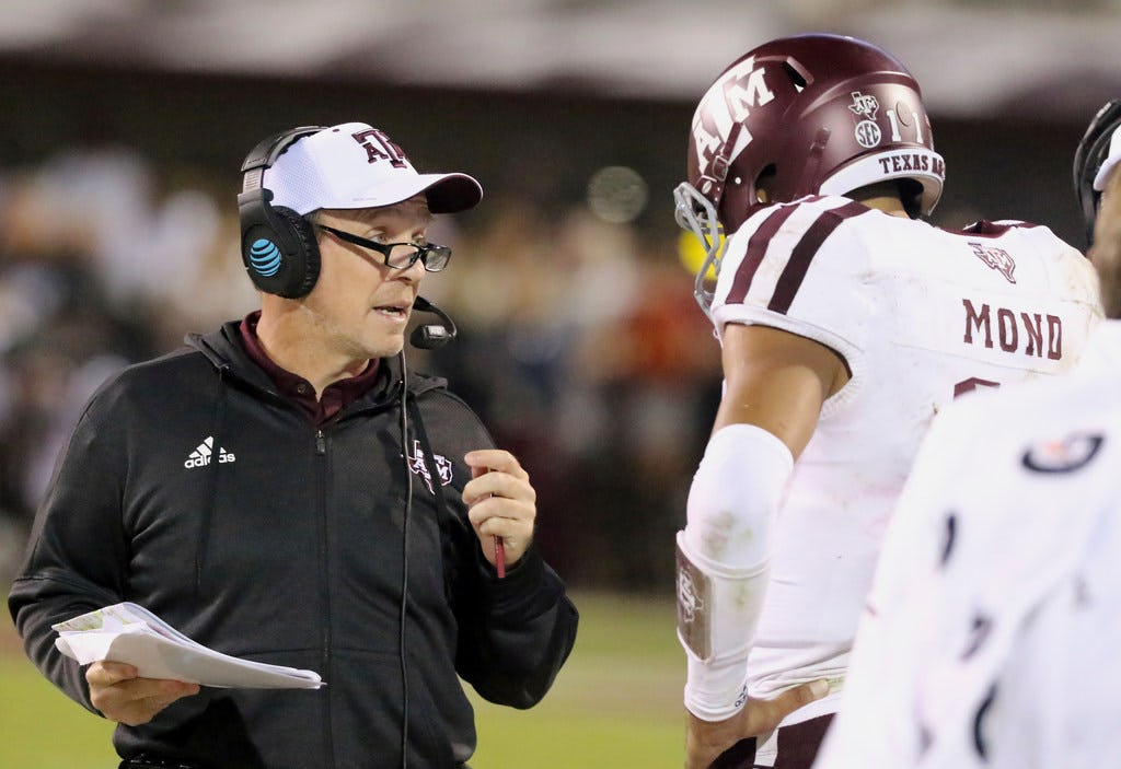Here's why Jimbo Fisher compared Texas A&M's 2019 QB signee to NFL legend Brett Favre