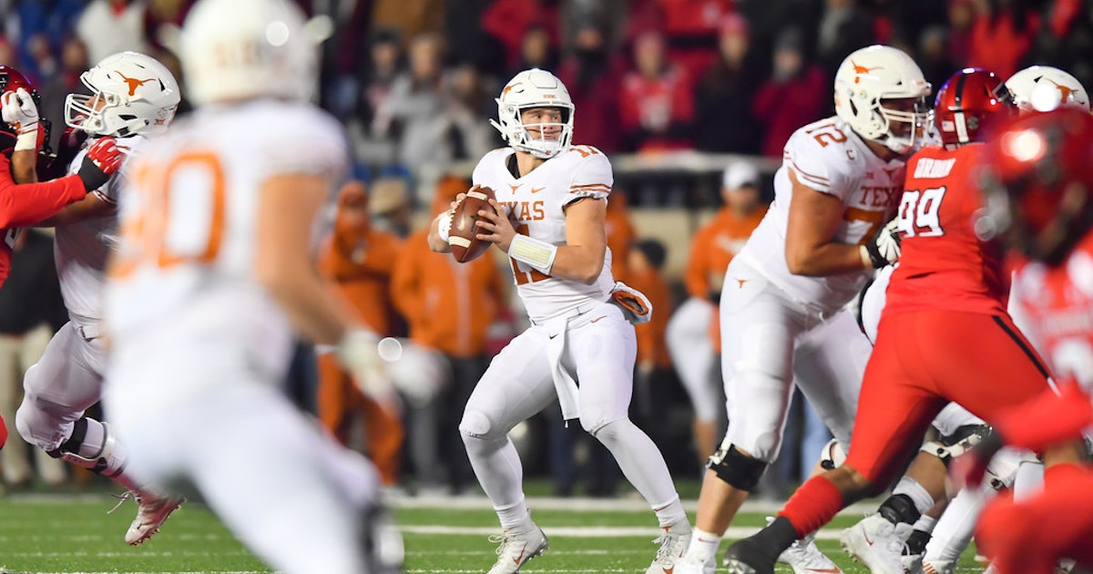 College Sports  5 takeaways from No. 19 Texas  41-34 win over Texas Tech   Late TD propels Longhorns after squandering big lead  a9d281b21