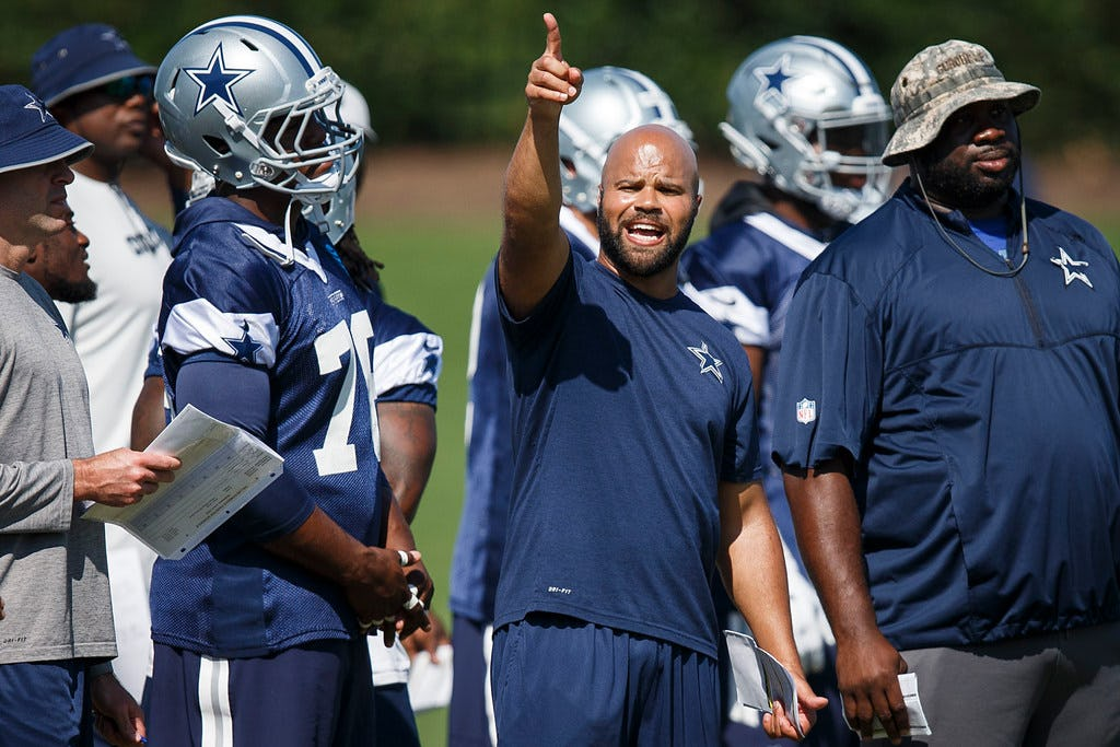 Falcons coach Dan Quinn: I learned a lot from Cowboys DB coach Kris Richard; 'Not surprised' he's having success in Dallas