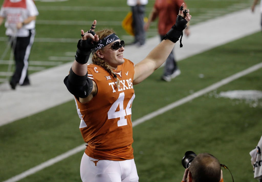 Amway Coaches Poll: Texas rises 3 spots to pass West Virginia, Oklahoma remains No. 6