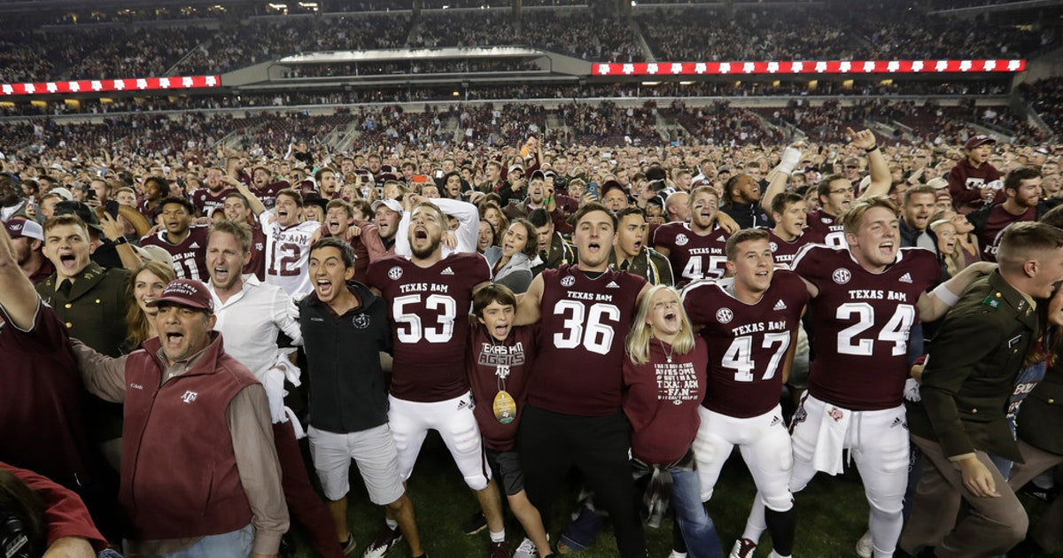 College Sports  Altercation breaks out between Texas A M 42becf8d7d3