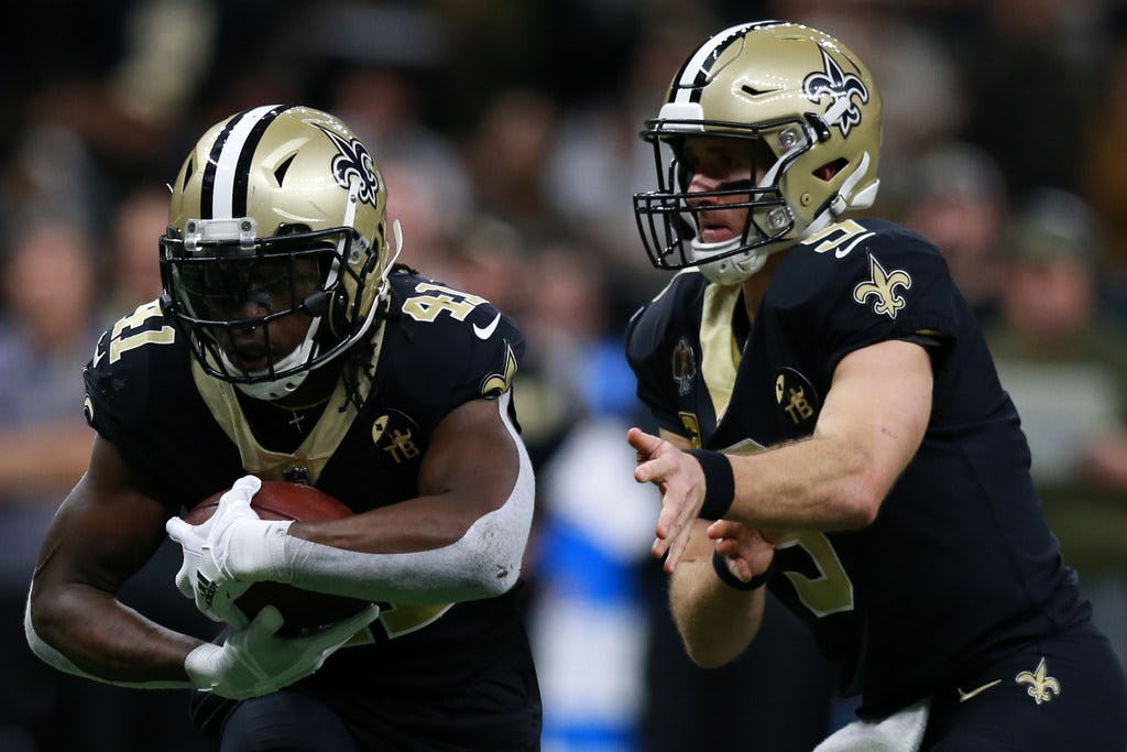 Is containing Saints RB Alvin Kamara the top priority for the Cowboys' defense?