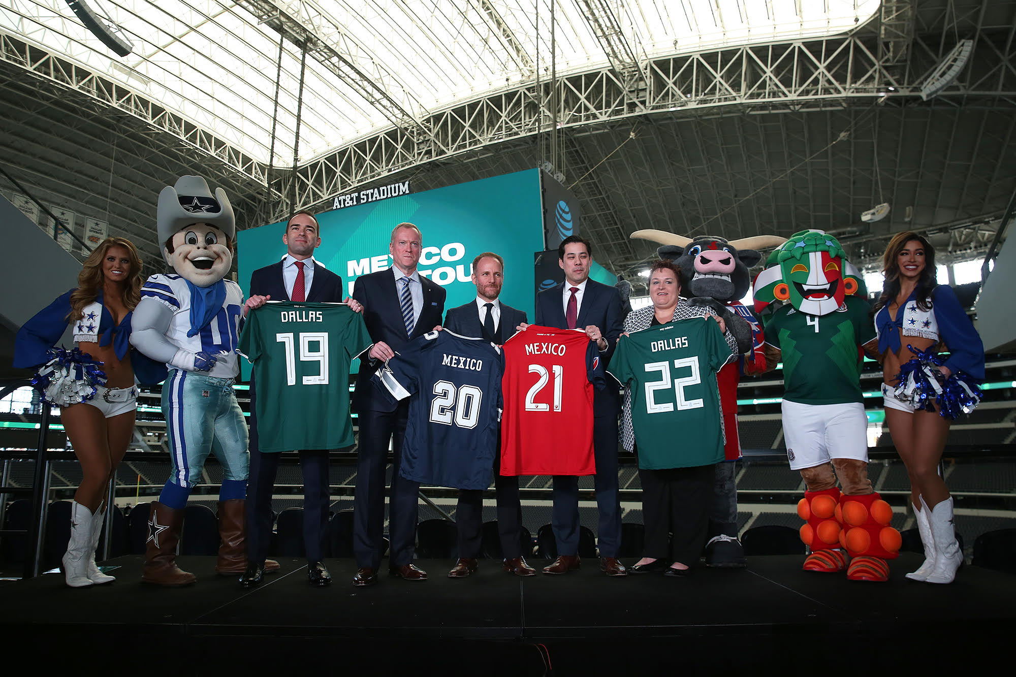 24c291ed130e Other Sports  Mexican National Team to play at AT T Stadium once a year  through 2022