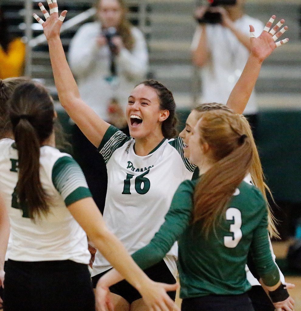 All District Volleyball See The Best Players In All Dallas Area