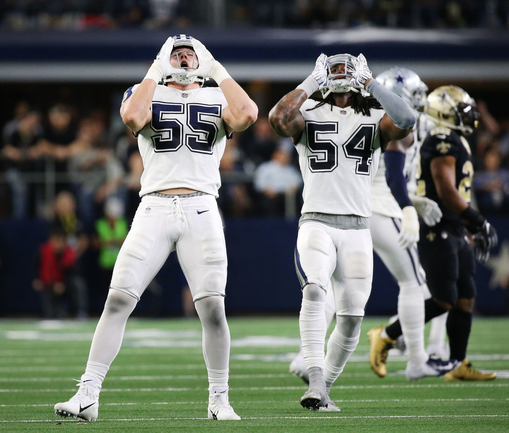 4b8989d6d19 Dallas Cowboys: 'It's just fitting': Cowboys rookie LB Leighton Vander Esch  talks becoming 'The Wolf Hunter' | SportsDay