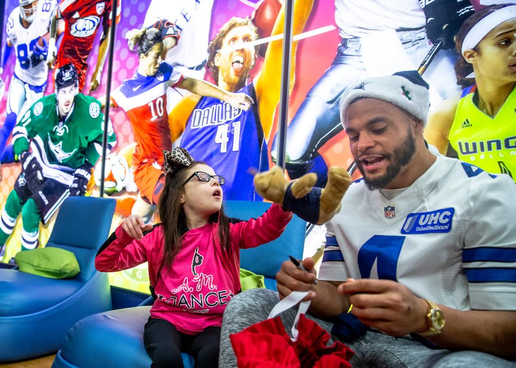 6397b57f9e2 Dallas Cowboys: Why Cowboys QB Dak Prescott is so thankful for his  nomination for Walter Payton NFL Man of the Year award   SportsDay