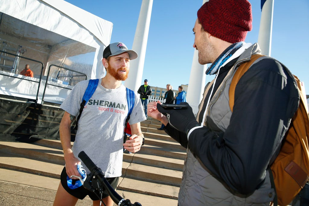 BMW Dallas Marathon newbie aims high with shot at an Olympic trials berth in hometown race