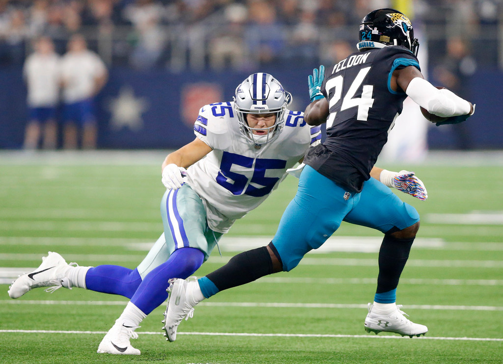 2600cb20f88 Dallas Cowboys: On the hunt: Breaking down Defensive ROY chances for Cowboys  LB Leighton Vander Esch in 2018's stacked class | SportsDay