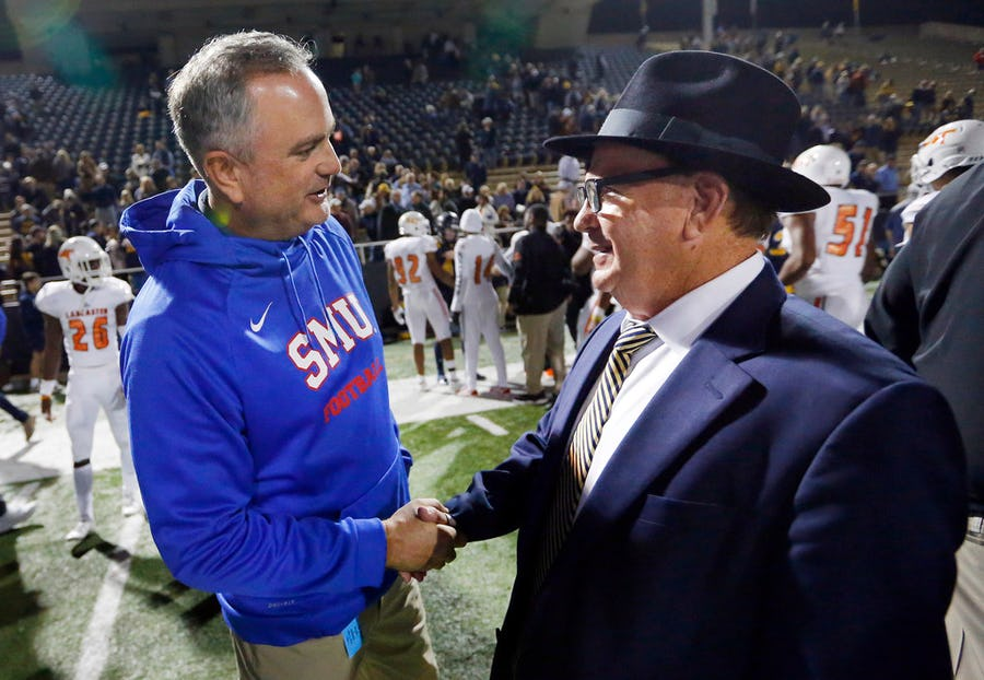 Sonny Dykes on SMU's new billboard campaign: We need to be known as 'Dallas' football program' | SportsDay