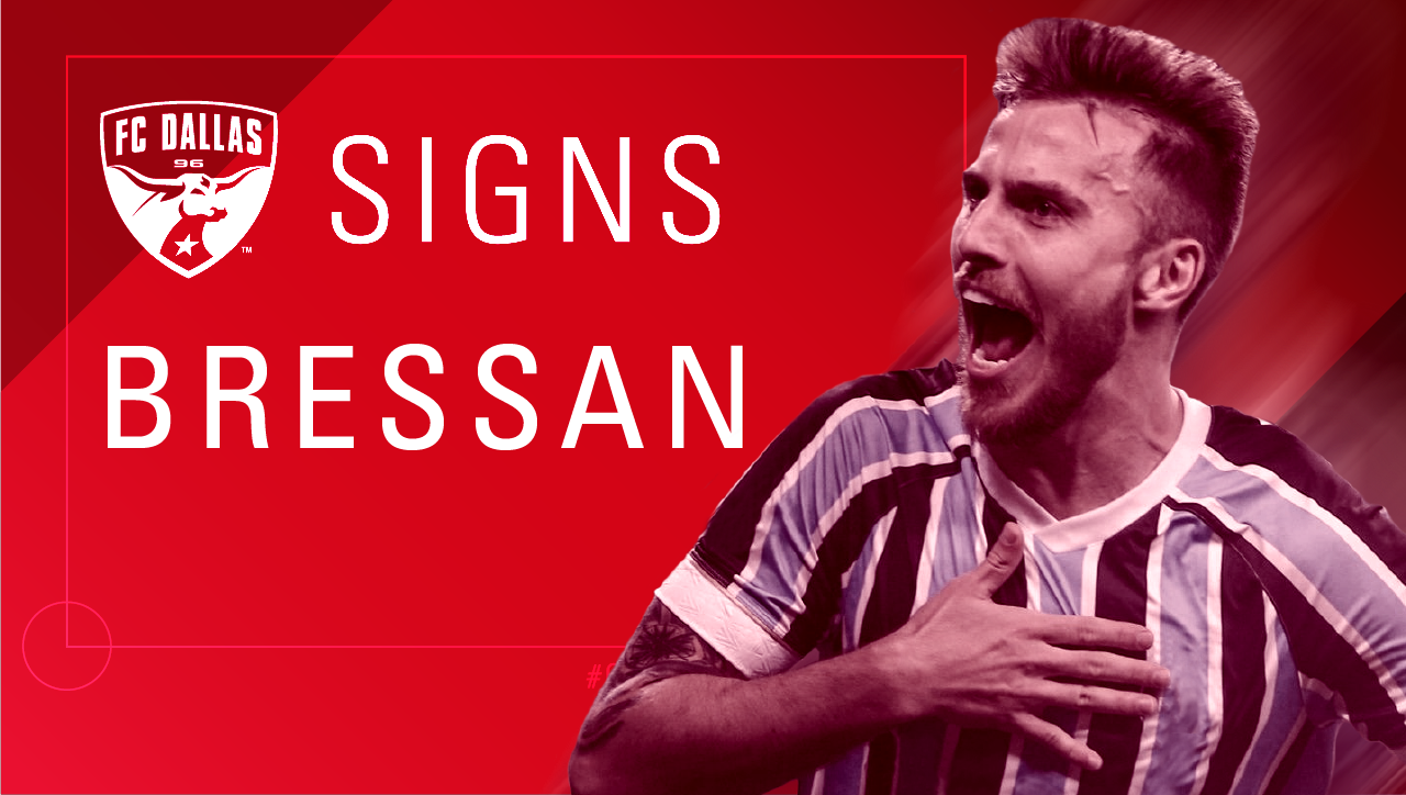 Soccer: FC Dallas signs Brazilian defender Bressan | SportsDay