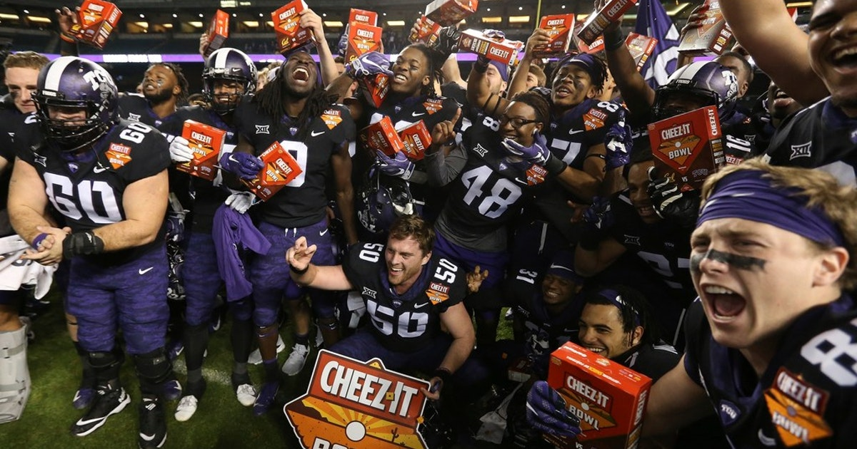 college sports national reaction to tcu s cheez it bowl victory a