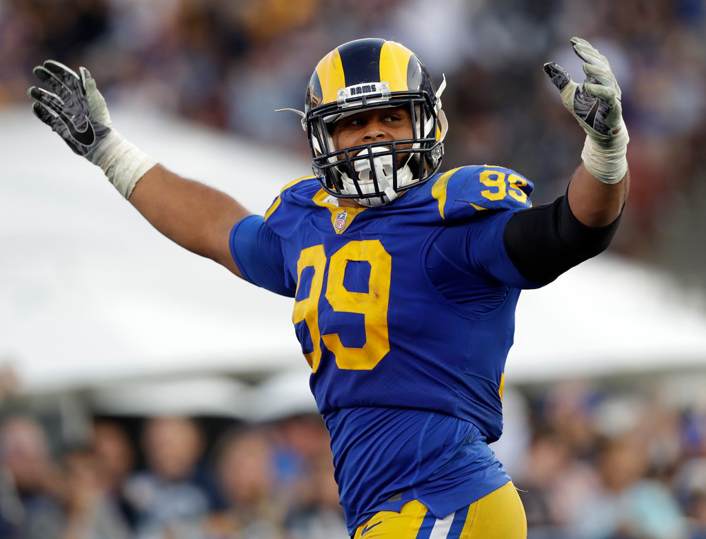 Dallas Cowboys  Film Room  How the Cowboys can slow down Aaron Donald and  move the ball on the Rams defense  8c5a9d74d