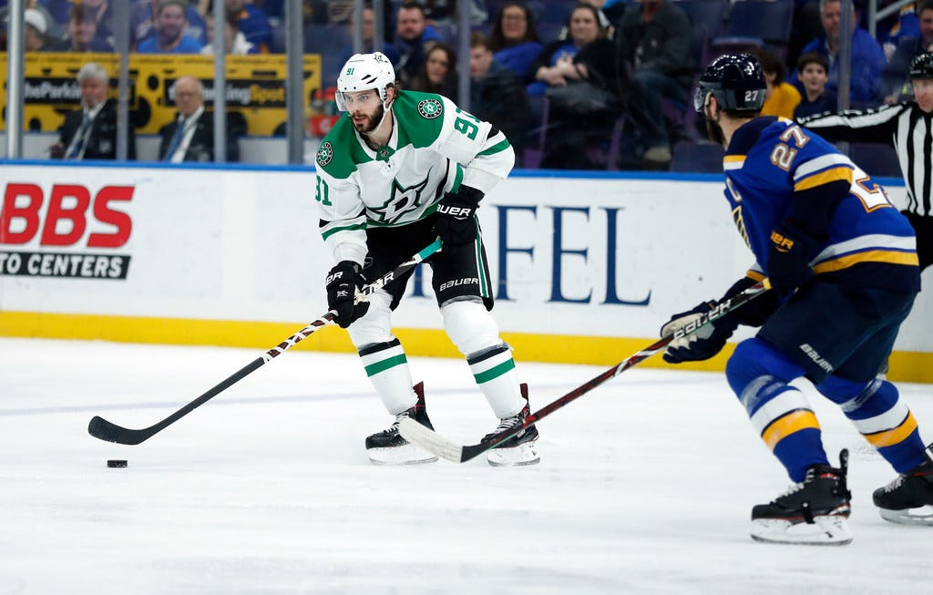 After some early-season misfortune, Stars center Tyler Seguin knew the pucks would eventually start going in the net