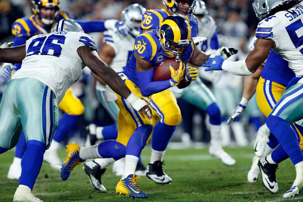 Did the LA Rams run all over Dallas because the Cowboys were unknowingly tipping them off?