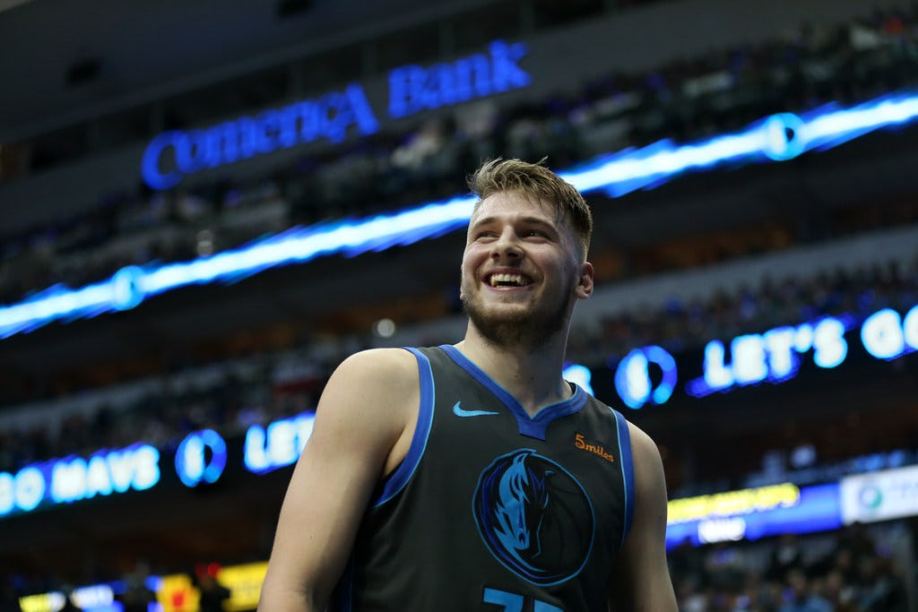 Only two players are getting more NBA All-Star Game fan votes than Mavericks rookie Luka Doncic