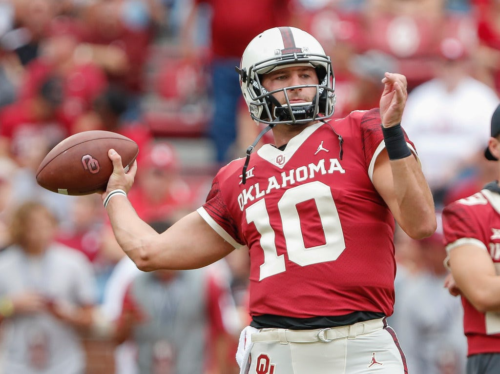 Former Oklahoma QB Austin Kendall officially transfers to West Virginia