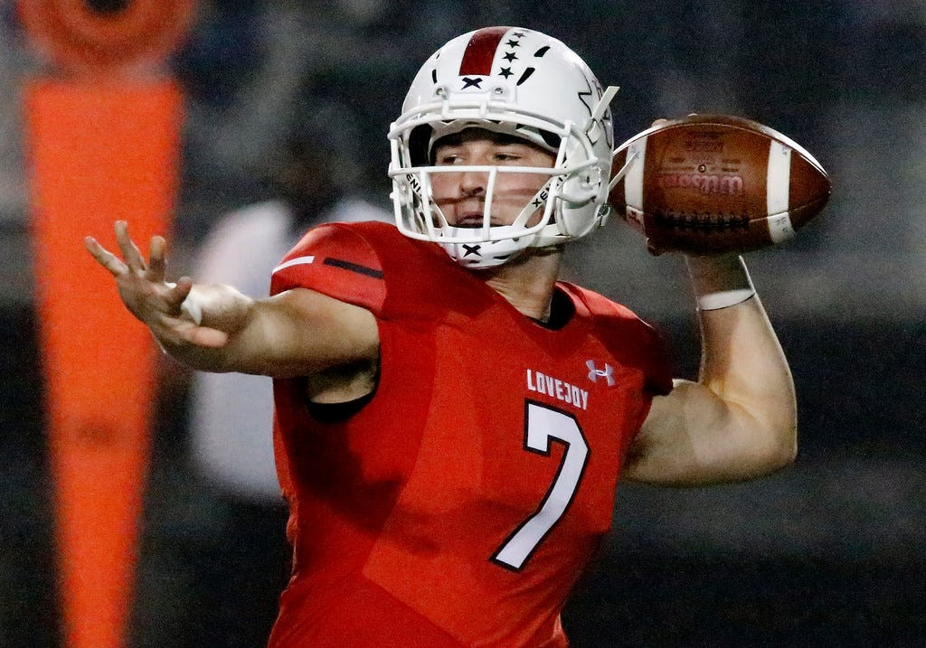 Lovejoy QB Carson Collins commits to Tulsa