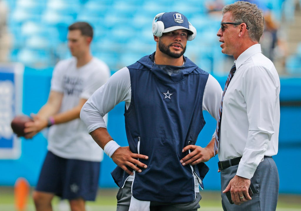 What Troy Aikman thinks the biggest problem was for the Cowboys' offense in 2018