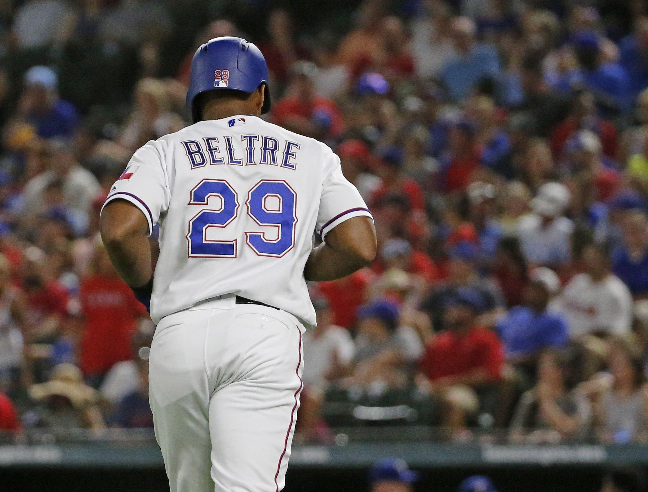 Rangers announce Adrian Beltre's No. 29 will be retired June 8 vs. Oakland