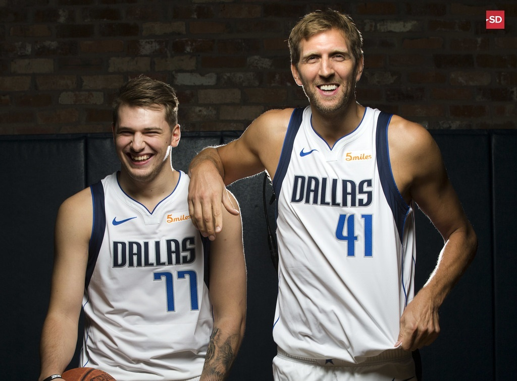 quality design d9371 1eea0 Mavs' Luka Doncic to represent Team World in Rising Stars ...